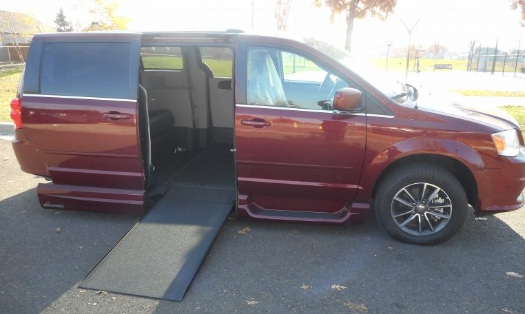 red-dodge-mobility-conversion-mini-van