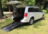 dodge-mini-van-white-trunk-open